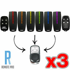 3 x Avanti, Superlift, Centurion & TX4 Garage Door Gate Remote Control (NEW)