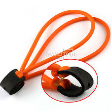 Orange Powerful Strong Elastic Rubber Bands For Rocket Catapult Toy Hunting