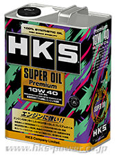 New HKS Super Oil Premium  API/SN 10w40 Fully Synthetic  (4 Litres)  52001-AK110