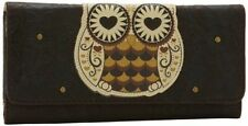 Loungefly Owl With Heart Eyes Bird Punk Tattoo Goth Rockabilly Wallet LFWA0302
