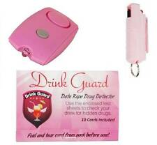 Women's Personal Protection Self Defense Gift Set With Date Rape Drug Detector