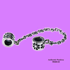 Pandora Flower Safety Chain in Sterling Silver, 790385-05