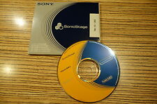 SONIC STAGE 1,5 software per minidisc Net Player.