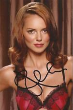 THE HALCYON: KARA TOINTON 'BETSY DAY' SIGNED 6x4 SEXY MODELLING PHOTO+COA