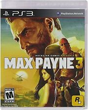 Max Payne 3 PS3 Video Game Playstation 3