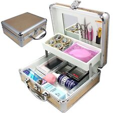 Pro False Eye Lashes Eyelash Extension Glue Removal Kit Tools Set makeup Case