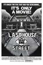 Last House On Dead End Street Poster 01 Metal Sign A4 12x8 Aluminium