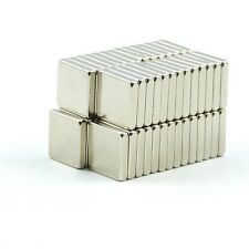 10Pcs of 10mm x 10mm x 2mm Square Strong Rare Earth Neodymium Magnets N52