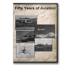 Fifty Years of Aviation Military Aircraft Big Picture Documentary DVD - A831