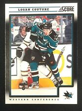 2012-13 Score LOGAN COUTURE Black Ice Hockey Card 390