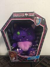Monster High Plüschtier Crescent die Katze von Clawdeen Wolf Sammlerfigur SELTEN