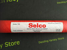 Selco Infra Red Silica Heater Element 750W 240V ST29E 540mm Prilect 21 1/4""