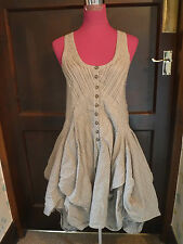 Beautiful All Saints Jezabel Dress Striped Size 12 Excellent Condition