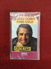 Cassette New, Pure Gold by Perry Como (RCA) Sealed