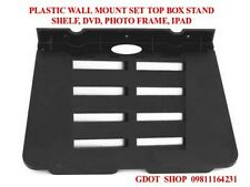 PLASTIC WALL MOUNT SET TOP BOX STAND, SHELF, DVD, PHOTO FRAME, IPAD
