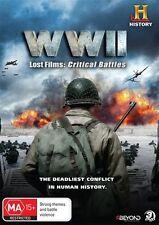 World War 2 - WWII Lost Films - Critical Battles : NEW DVD