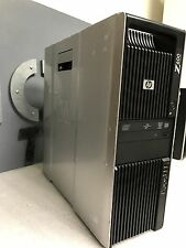 HP Z600 Workstation Xeon Quad Core E5540 2.53GHz 12GB 500GB Win 7 Pro