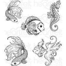 Heartfelt Creations Stamps ~ UNDER THE SEA ~ HCPC3739