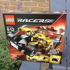 NEW LEGO Racers 8166 Wing Jumper 2009 DISCONTINUED Retired Racer Slam Action