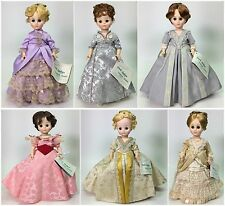 SET OF 6 MADAME ALEXANDER FIRST LADY DOLL COLLECTION SERIES IV USED