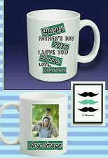 CUSTOM PERSONALISED Father's Day yourPHOTO textMUGS PRESENT GIFT STAGE HEN PARTY