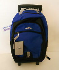 TRAILMAKER ROLLING BACKPACK BLUE BRAND NEW IN BOX!! 486597