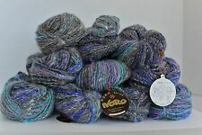 Noro Yarn Kochoran wool, silk, angora total of 10 skeins color 21 + Noro book