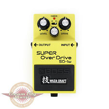 Brand New Boss SD-1W SD1W Waza Craft Super Overdrive Pedal