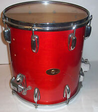 Slingerland USA 14x14 Prototype Floor Tom Burnt Orange One-of-A-Kind