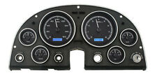 Dakota Digital 63 - 67 Chevy Corvette Analog Dash Gauges Black Blue VHX-63C-VET