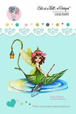 NEW LILIANA FAIRY clear acrylic rubber stamp Scrapbook Card craft by CAAB