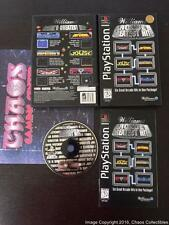 Williams Arcade's Greatest Hits (1995 Sony Playstation PS1) Complete CIB Longbox