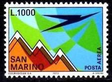 San Marino 1972 Aereo e Monte Titano Mnh