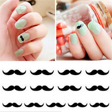 FD1613 3D Design Beauty Nail Stickers Nail Art DIY Stickers Decals ~Mustache~ A