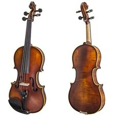 Very Unique Antique Style Two Piece Back 4/4 Violin
