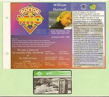 #T28.  PHONECARD & PAGE - DOCTOR WHO , WILLIAM HARTNELL