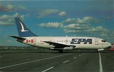 EPA AIRWAYS C-FEPO X/N 20300 AT MONTREAL AIRPORT 1985 POSTCARD