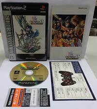 Playstation 2 PS2 NTSC JAP Japan FINAL FANTASY X-2 INTERNATIONAL + LAST MISSION