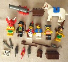 6 LEGO Pirate Minifigures & 1 Horse, plus other animals and accessories
