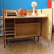 VINTAGE mid century modern Desk Cabinet scrivania CREDENZA Wegner Panton ère