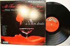 """All Time Favorite Love Songs-Twin Pianos and Organ, LP Vinyl 12""""(VG)"""