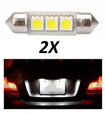 2 Ampoules LED C5W Eclairage de plaque ALPINA D10 Break (E39)