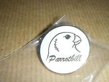 PARROTBILL BIRD BADGE - NOT RSPB - PARROT BILL