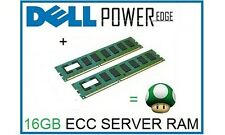 16GB (2x8GB) Memory Ram Upgrade for Dell Poweredge T310 and R310 Servers Only