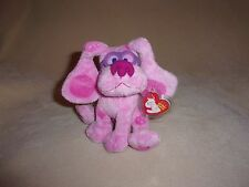 TY MINT MAGENTA THE DOG BEANIE BABY- FROM BLUES CLUES- NON-MINT TAG- ADORABLE!
