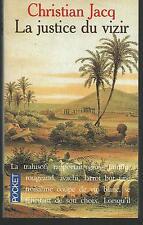 La justice du vizir.Christian JACQ.Pocket H004