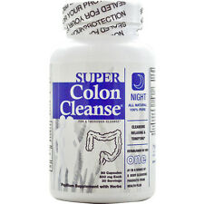 HEALTH PLUS - Super Colon Cleanse Night - 90 Capsules
