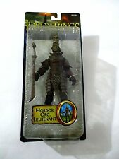 THE LORD OF THE RINGS RETURN OF THE KING MORDOR ORC LIEUTENANT TOYBIZ 2005 MOC