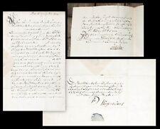 1745 Wolfenbüttel Braunschweig Wild Wildbret Jagd Jäger Manuskript-Dokument