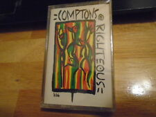 SEALED RARE OOP Comptons Righteous EP CASSETTE TAPE conscious hip hop RAP 1992 !
